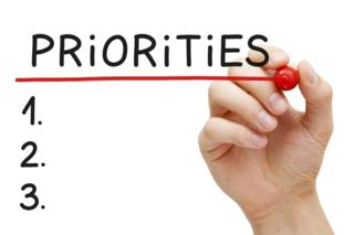 Priorities - 1